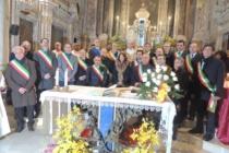 MESSINA – Rinnovato il solenne omaggio a Santa Eustochia Smeralda, presenti molti sindaci della provincia