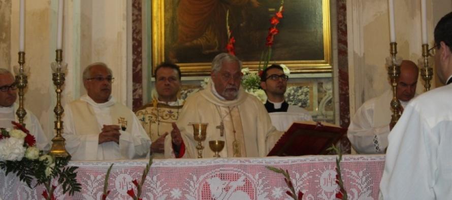 MESSINA – Celebrata la Festività di San Giovanni Battista, Patrono dei Cavalieri di Malta
