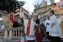 """MESSINA – Santa Eustochia, rinnovata l'offerta del """"cero votivo"""", con """"atto di affidamento"""" alla sua protezione"""