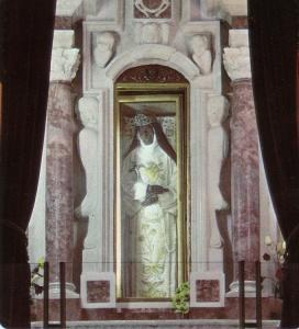 Corpo incorrotto di Eustochia Cappella di Montevergine °