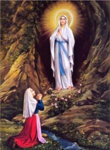Madonna di Lourd.