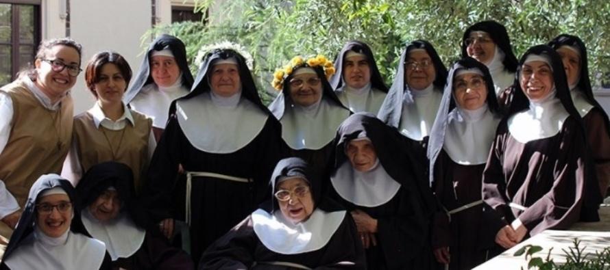 """MESSINA – Monastero di Montevergine, il messaggio augurale per la Santa Pasqua da parte delle Clarisse """"Sorelle Povere di Santa Chiara"""""""