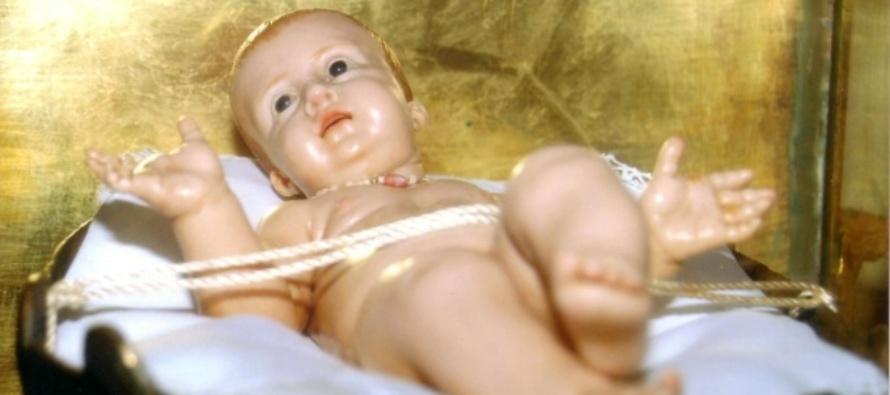 IL Gesù Bambino di cera che versò lacrime umane a Messina