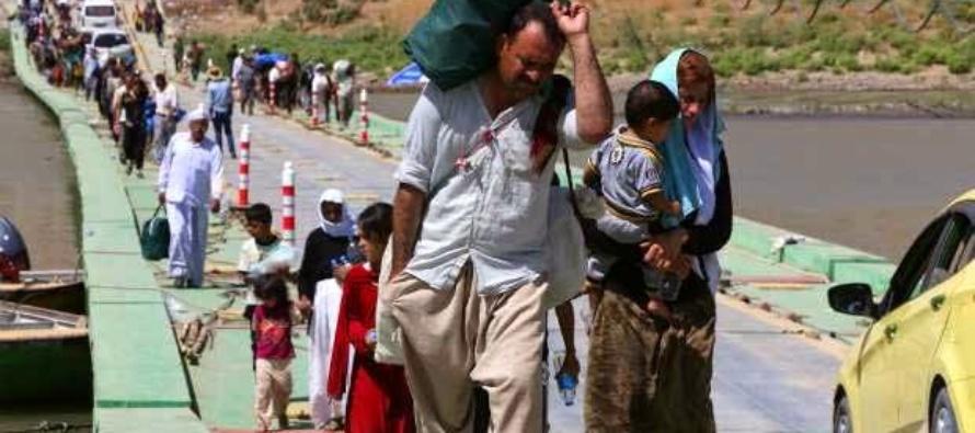 TERZO MONDO – La Chiesa in aiuto dei miseri sfollati del Kurdistan, grazie anche ai fondi Cei dell'8xmille.