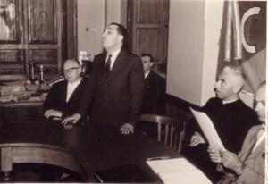 Gerardi agli inizi della Settimana teologica. Anni 60