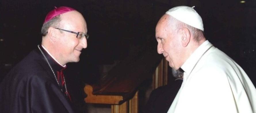 Papa Francesco incontra mons. Guglielmo Giombanco, il nuovo Vescovo di Patti
