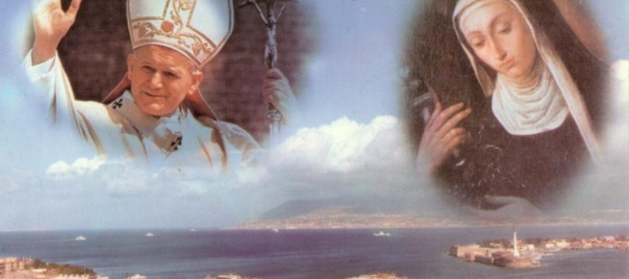 MESSINA – Montevergine, nella ricorrenza del prossimo 11 giugno che precede di un anno il 30° anniversario (1988-2018) della canonizzazione di S. Eustochia, ritiro spirituale promosso dalle clarisse