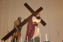 MESSINA – Oratorio della Pace (chiesa delle Barette) Via Crucis organizzata dall'Associazione S. Eustochia Smeralda