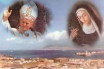 MESSINA – Celebrato il rito dell'imposizione del pallio all'Arcivescovo, nella ricorrenza del 30° della canonizzazione di Eustochia Smeralda Calafato