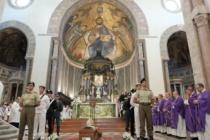 MESSINA – Celebrato il rito per l'ultimo saluto a Giovanni Marra, nella cattedrale dove ora riposa per sua volontà