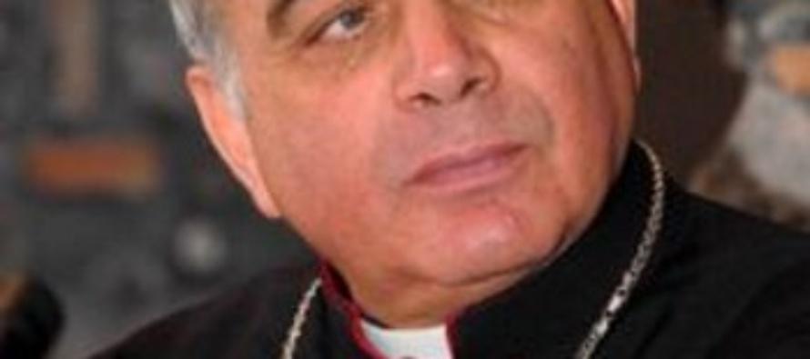 """Terremoto a Catania. L'arcivescovo Gristina: """"Affrontiamo quanto succede come una famiglia""""."""