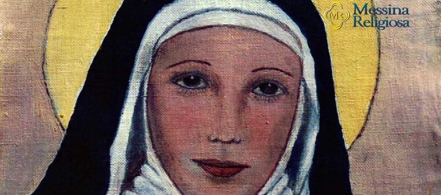 """MESSINA """"Terra di santi"""" – Montevergine, un'altra testimonianza di grazia ottenuta per intercessione di S. Eustochia"""