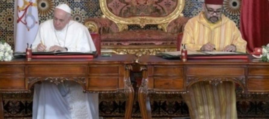 """Papa in Marocco: Al centro il dialogo interreligioso, """"Non viviamo come nemici, ma come fratelli"""""""