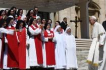 """Claustrali del New Jersey, progettato e finanziato ampliamento monastero in appena 12 mesi, """"Dio provvederà"""". Francesco a contemplative: """"Siate fari di fede"""""""