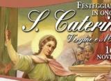 Parrocchia S. Caterina. In corso i preparativi per la Festività della Santa vergine e martire, lunedi 25. Solenne novenario dal 16 al 24.