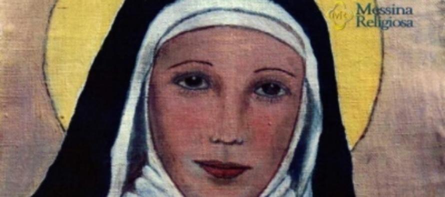 Messina – L'evento miracoloso che ha portato alla canonizzazione della Beata Eustochia nel 1988