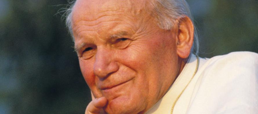 """Per una cultura di valori, S. Giovanni Paolo II: """"prendete in mano la vostra vita e fatene un capolavoro"""""""
