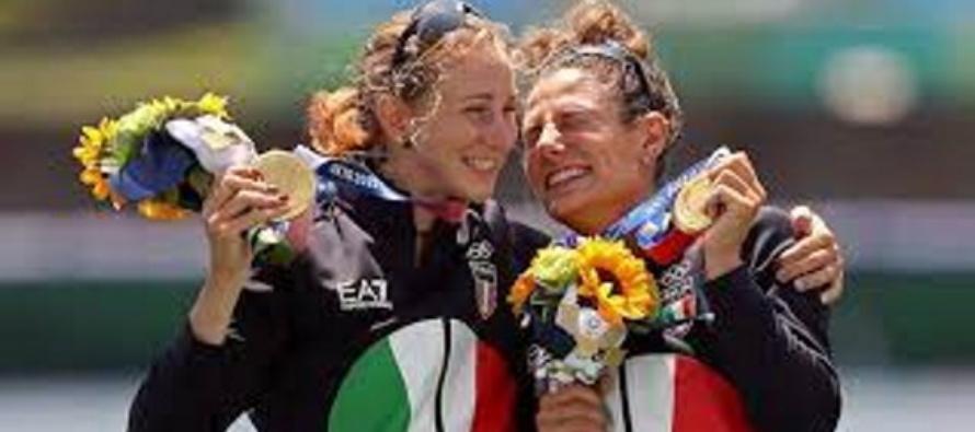 """Olimpiadi, storico oro nel canottaggio femminile: """"l'Italia sul tetto dell'Olimpo"""""""