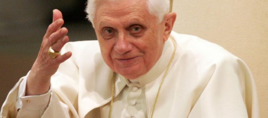 """Benedetto XVI, il """"matrimonio omosessuale"""" contraddice il principio procreativo dell'umanità"""